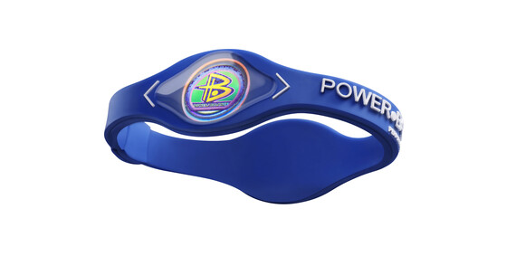 Power Balance Silikon Armband blue/white